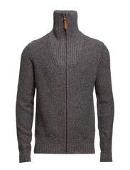 Sweaters cardigan - DARK GREY MELANGE