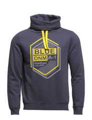 Sweatshirts - DARK WASHED BLUE