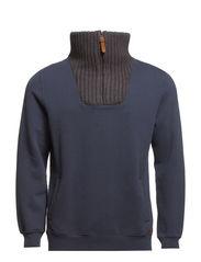 Sweatshirts - DARK WASHED BLUE