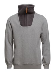 Sweatshirts - MEDIUM GREY MELANGE
