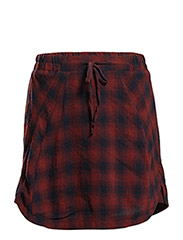 Skirts woven - GARNET RED