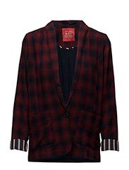 Blazers woven - GARNET RED