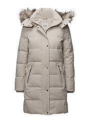 Coats woven - CREAM BEIGE