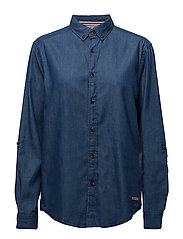 Shirts denim - BLUE MEDIUM WASH