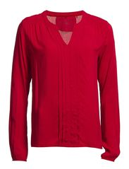 Blouses woven - MYSTERY RED