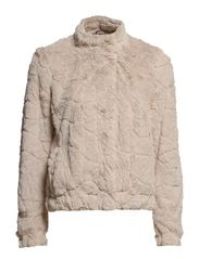 Jackets outdoor knitted - BEIGE COLORWAY