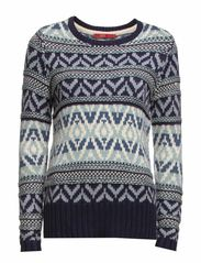 Sweaters - BLUE COLOURWAY