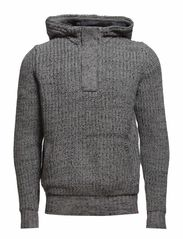 Sweaters - MEDIUM GREY MELANGE