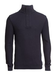 Sweaters - DARK WASHED BLUE