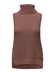 Sweaters - DARK MAUVE