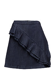 Skirts denim - BLUE DARK WASH