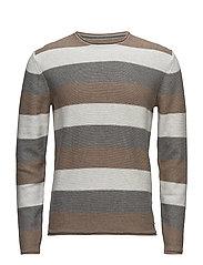 Sweaters - BEIGE