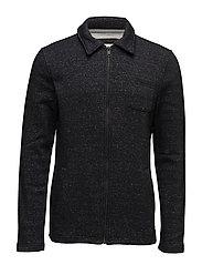Sweatshirts cardigan - BLACK