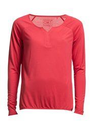 T-Shirts - SUNBURNED RED
