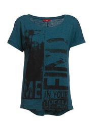 T-Shirts - EMERALD NIGHT MELANGE