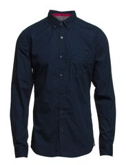 Shirts woven - BLUE BERRY