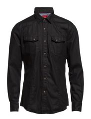 Shirts denim - C BLACK USED