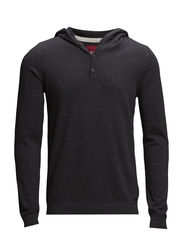 Sweaters - DARK GREY MELANGE