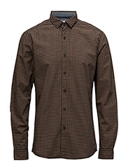 Shirts woven - TOFFEE