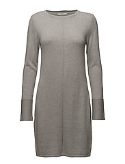 Dresses flat knitted - LIGHT GREY