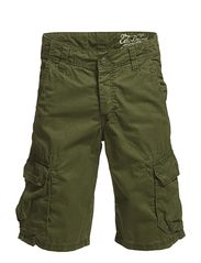 Shorts woven - CAMO GREEN