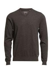 Sweaters - DK. GREY MELANGE