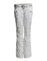 Pants woven - WHITE