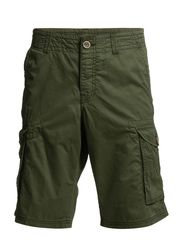 Shorts woven - LAKE GREEN