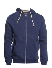 Sweatshirts cardigan - INDIGO BLUE
