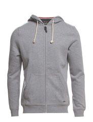 Sweatshirts cardigan - MEDIUM GREY MELANGE