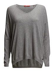 Sweaters - GREY MELANGE