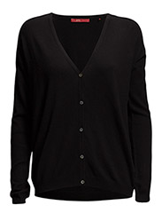 Sweaters cardigan - BLACK