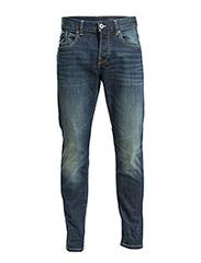 Pants denim - C DARK BLUE TINTED