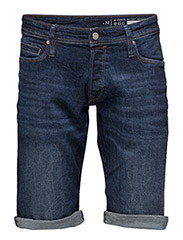 Shorts denim - BLUE DARK WASH