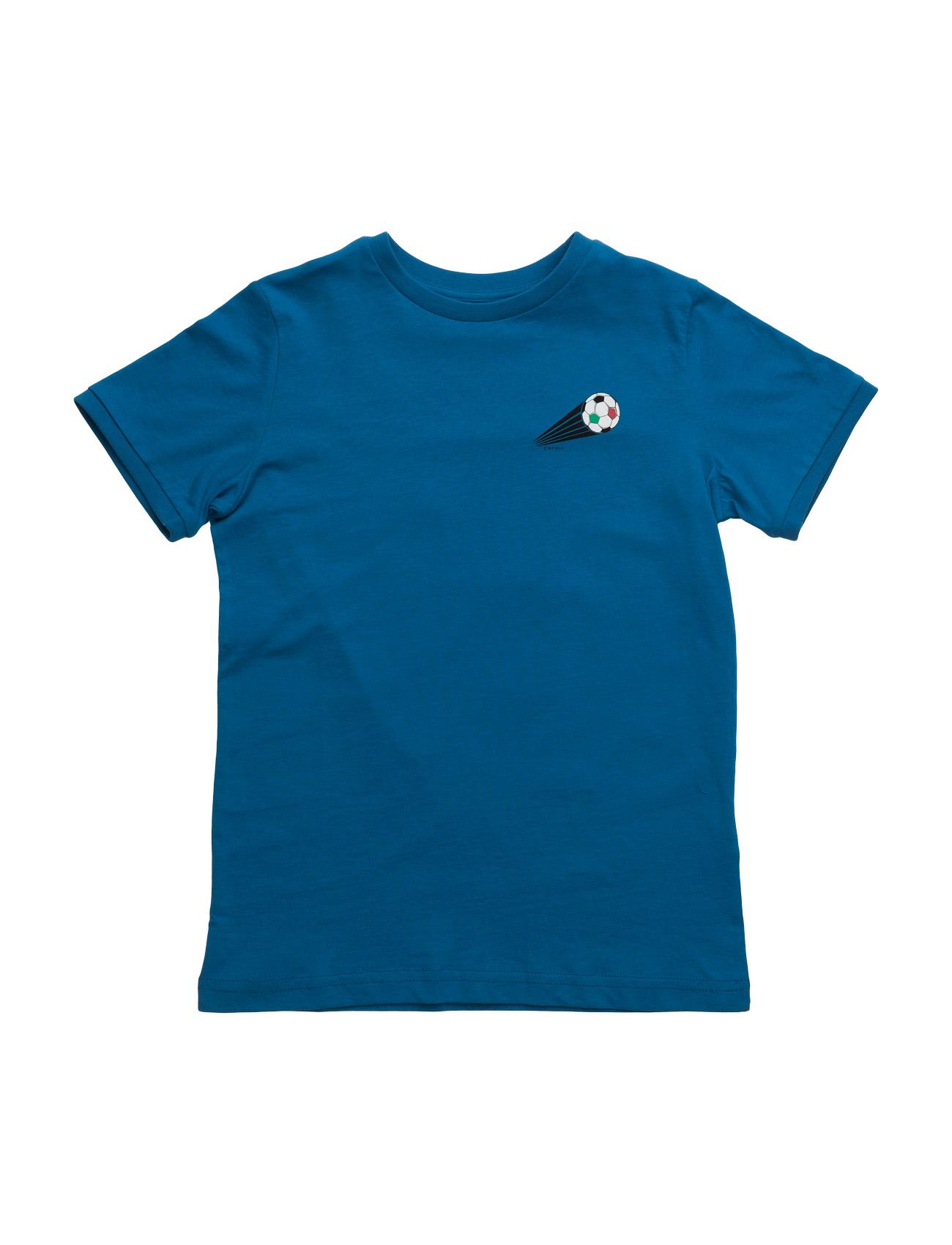T-Shirts Esprit Kids Kortærmede t-shirts til Børn i Blå