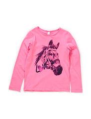 T-Shirts - MALLOW PINK