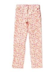 Pants woven - FLORAL PINK