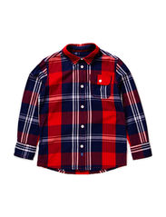 Shirts woven - FLASHY RED