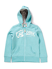 Sweatshirts cardigan - TURQUOISE BREEZE
