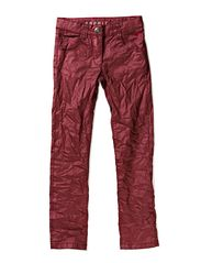 Pants woven - BURGUNDY RED
