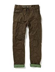 Pants woven - DARK OLIVE