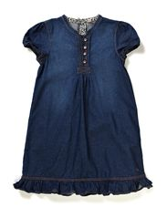 Dresses denim - E SUPERDARK DENIM