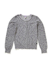 Sweaters cardigan - METAL GREY MELANGE