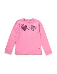 Sweatshirts - MALLOW PINK