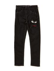 Pants denim - BLACK