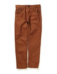 Pants woven - MARRON GLACE