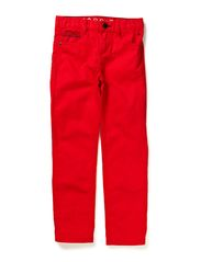 Pants woven - SUNSET RED