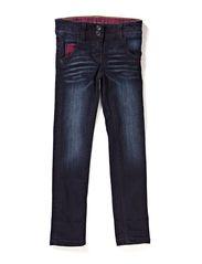Pants denim - BRIGHT RASPBERRY