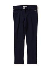 Pants woven - CINDER BLUE