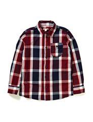 Shirts woven - CINDER BLUE